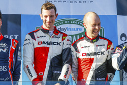 Podium: Winner Elfyn Evans, Daniel Barritt, Ford Fiesta WRC, M-Sport