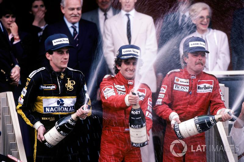 McLaren, 1986: Alain Prost e Keke Rosberg