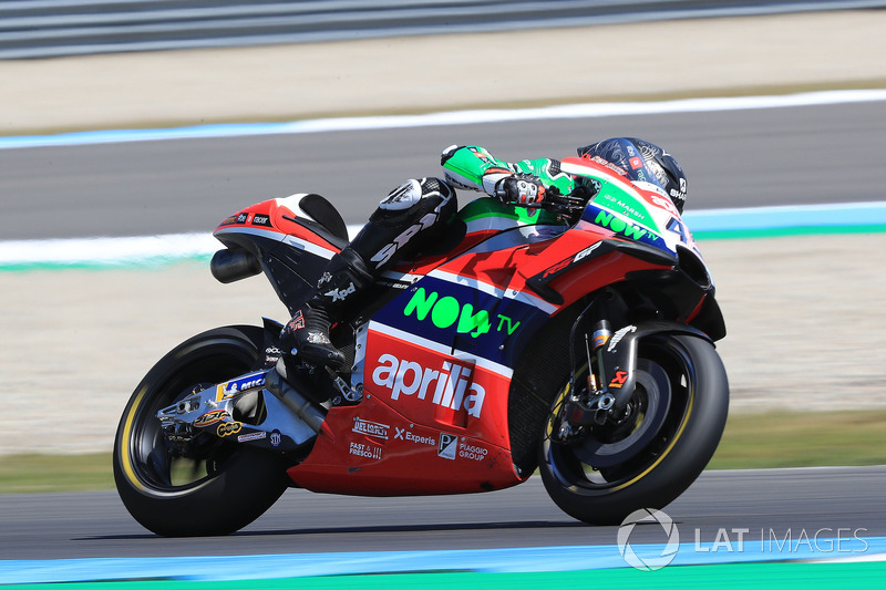 17º Scott Redding, Aprilia Racing Team Gresini