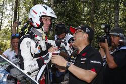 Third place Jari-Matti Latvala, Toyota Yaris WRC, Toyota Gazoo Racing