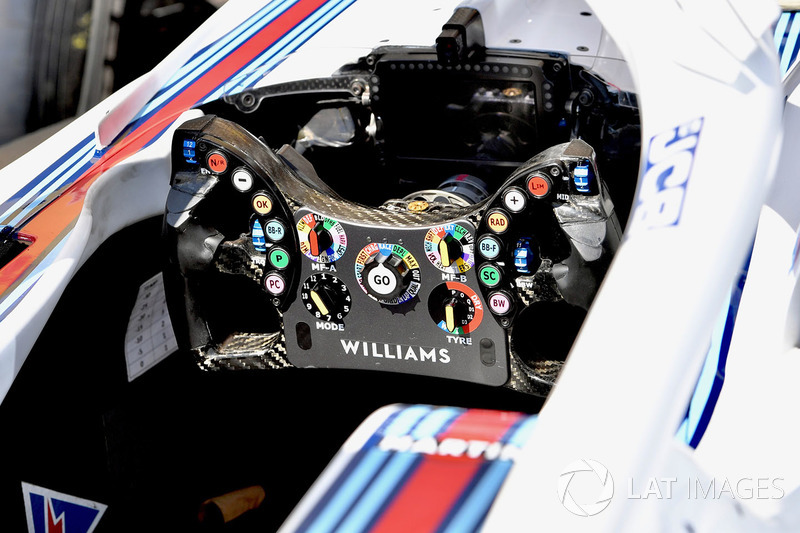 Le volant de la Williams FW41