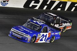 Johnny Sauter, GMS Racing, Chevrolet Silverado ISM Connect and Noah Gragson, Kyle Busch Motorsports, Toyota Tundra Safelite AutoGlass