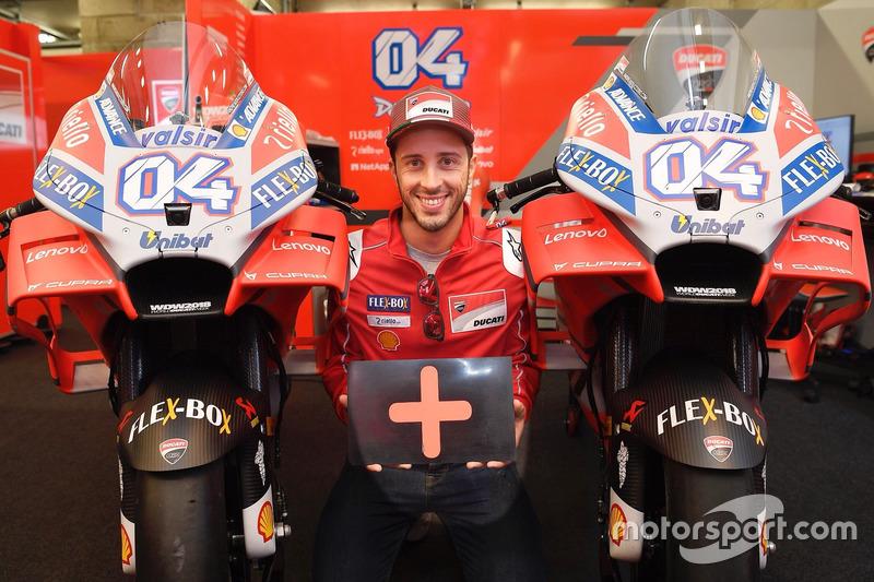 Andrea Dovizioso, Ducati Team, dua tahun lagi bersama Ducati