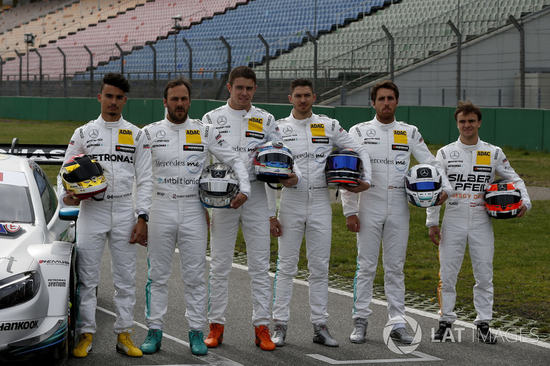 All Mercedes drivers 2018