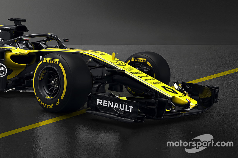 renault f1 team rs18 pr sentation de la renault r photos formule 1. Black Bedroom Furniture Sets. Home Design Ideas