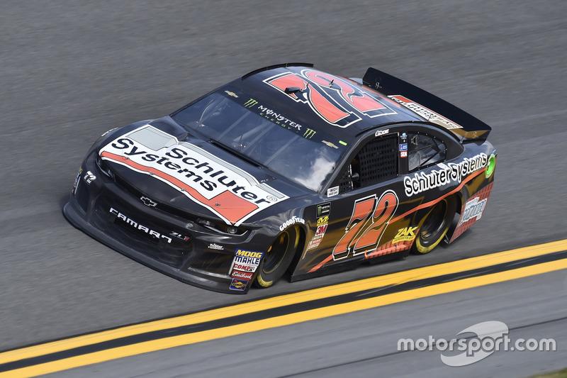 32. Corey LaJoie, No. 72 TriStar Motorsports Chevrolet Camaro