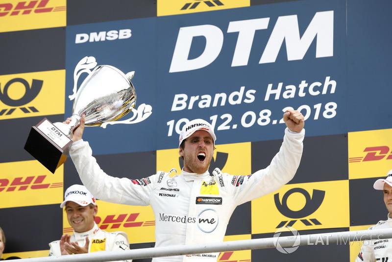 Podium: Ganador Daniel Juncadella, Mercedes-AMG Team HWA