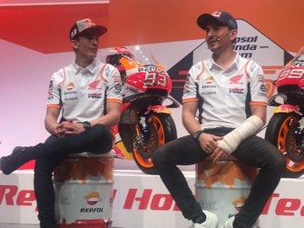 Marc Márquez e Jorge Lorenzo, Repsol Honda Team