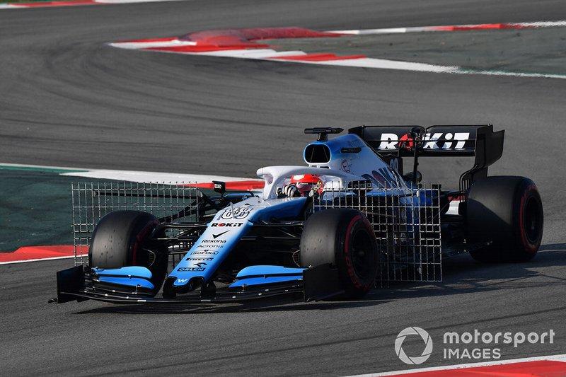 Robert Kubica, Williams FW42 with aero sensors