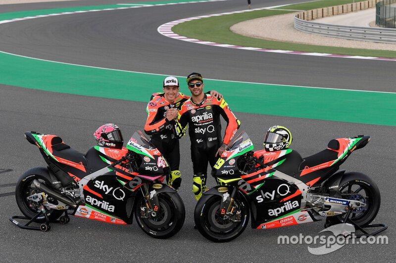 Aleix Espargaro, Andrea Iannone, Aprilia Racing Team Gresini