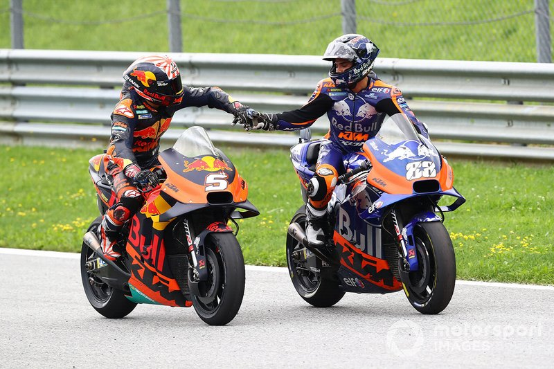Johann Zarco, Red Bull KTM Factory Racing, Miguel Oliveira, Red Bull KTM Tech 3