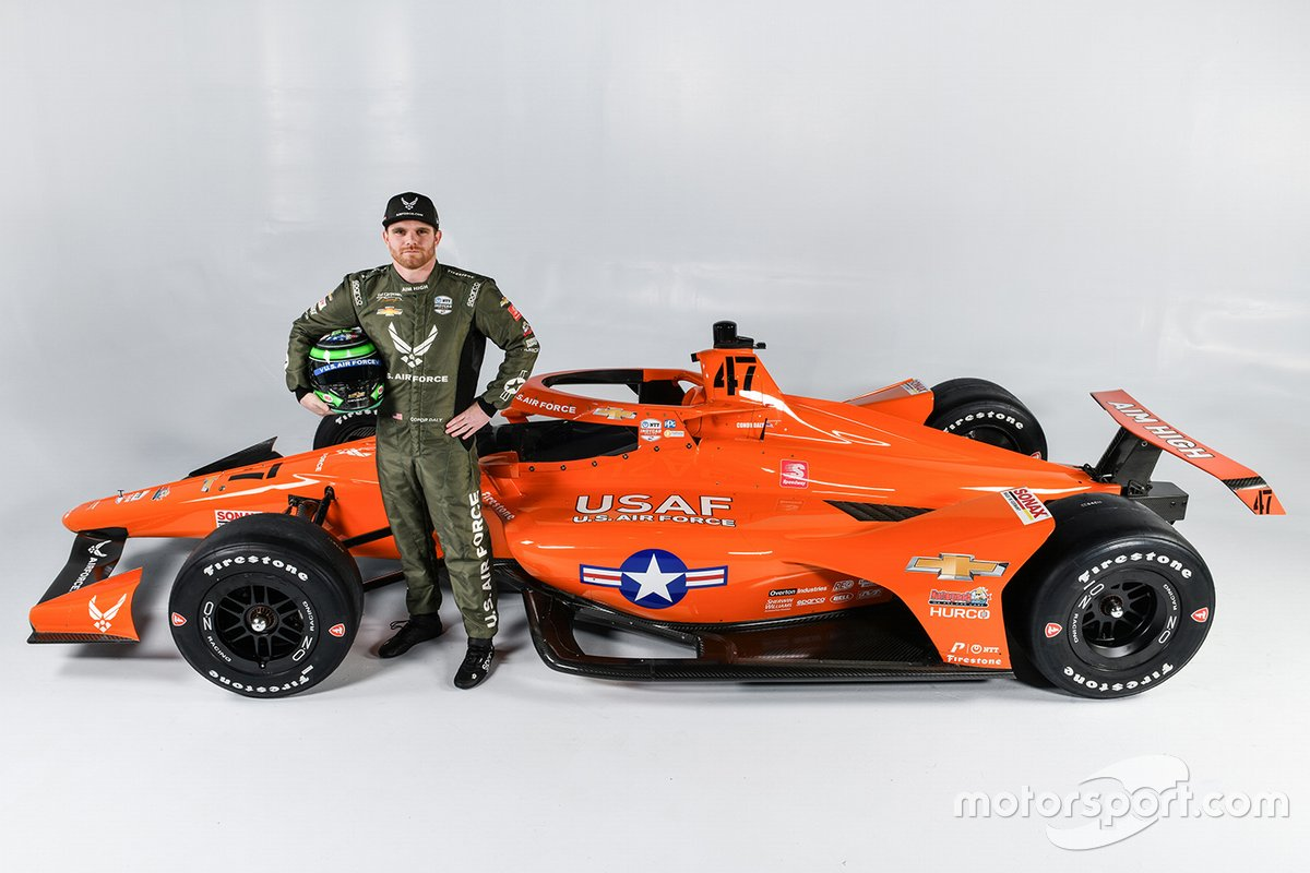Conor Daly Indy 500 announcement