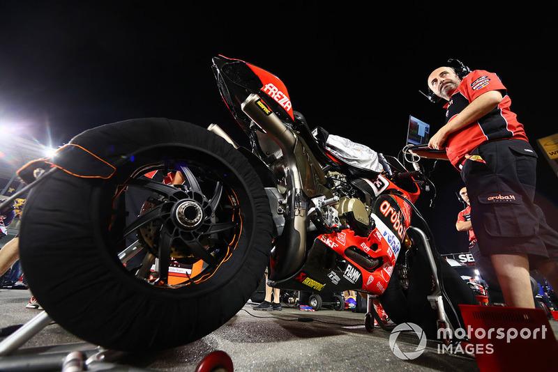 Marco Melandri, Aruba.it Racing-Ducati SBK Team bike