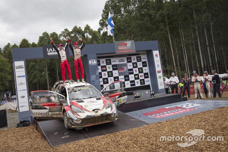Переможці Ярі-Матті Латвала, Міікка Анттіла, Toyota Yaris WRC, Toyota Gazoo Racing