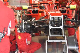 Ferrari SF71H wheel detail