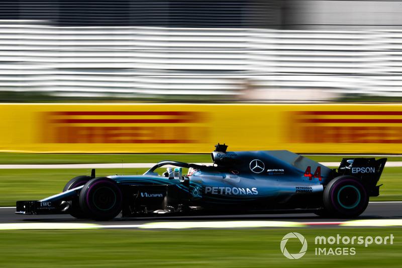7. Lewis Hamilton, Mercedes AMG F1