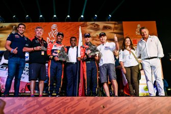 Podium: Toyota Gazoo Racing Toyota Hilux: Nasser Al-Attiyah, Matthieu Baumel