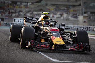 Max Verstappen, Red Bull Racing RB14, in griglia di partenza