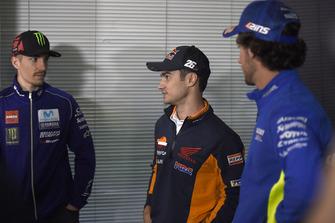 Maverick Viñales, Yamaha Factory Racing, Dani Pedrosa, Repsol Honda Team, Alex Rins, Team Suzuki MotoGP