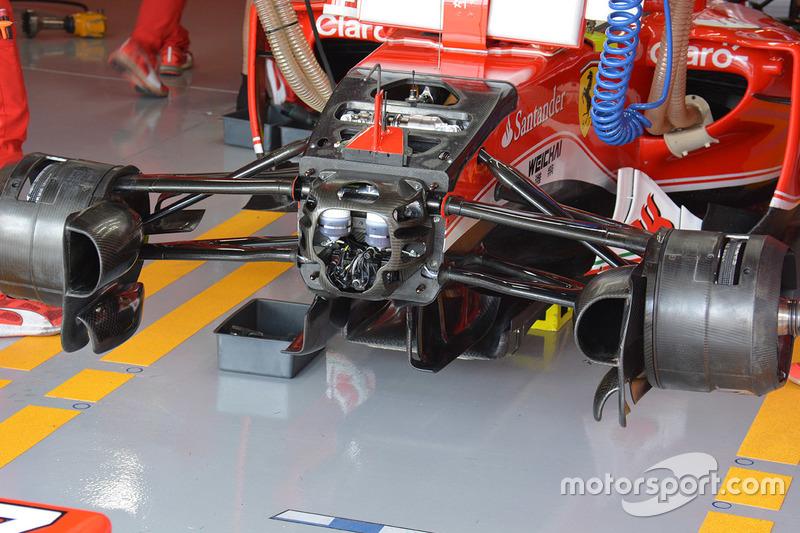 Frontdetail, Ferrari SF16-H