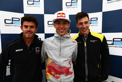 Conferenza stampa post qualifiche, Norman Nato, Racing Engineering; Pierre Gasly, PREMA, Racing e Al