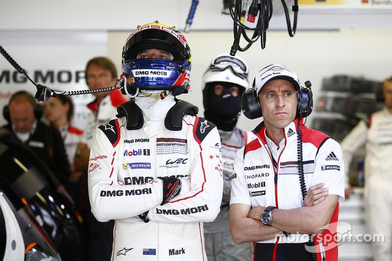Mark Webber, Timo Bernhard, Porsche Team