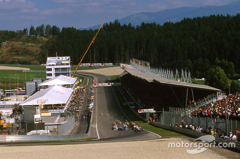 Pasa las fotos y mira los ganadores del GP de Austria en Spielberg