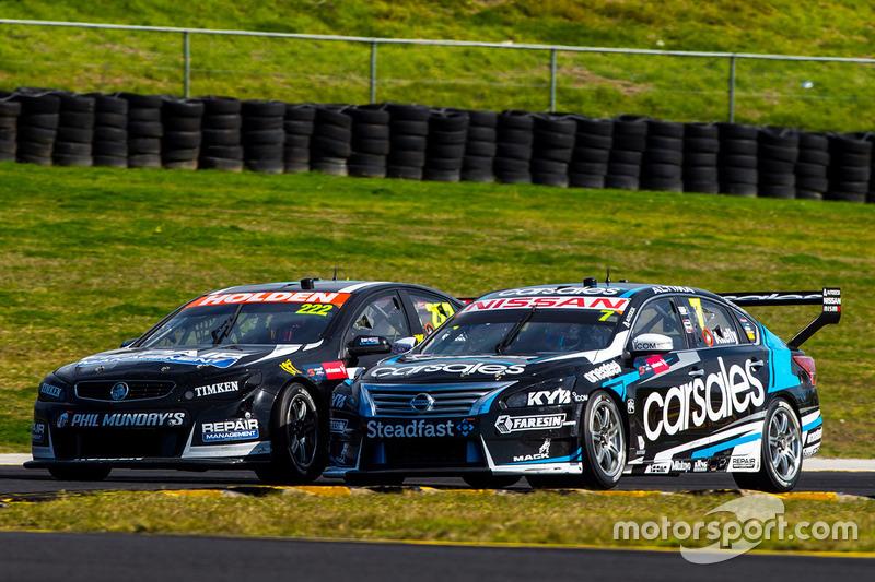 Nick Percat, Lucas Dumbrell Motorsport Holden, Todd Kelly, Nissan Motorsports