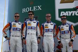 #54 CORE autosport Oreca FLM09: Джон Беннетт, Колін Браун, Марк Вілкінс, Марітн Пломен