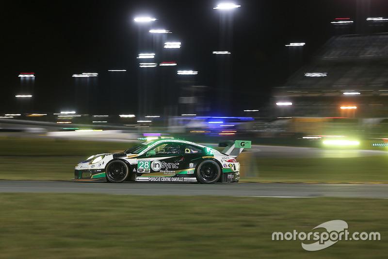 #28 Alegra Motorsports Porsche 911 GT3 R: Daniel Morad, Jesse Lazare, Carlos de Quesada, Michael de