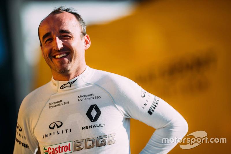 Роберт Кубица, Renault F1 Team