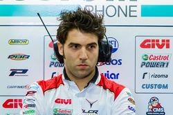 Marco Barbiani, ingénieur de données du Team LCR Honda