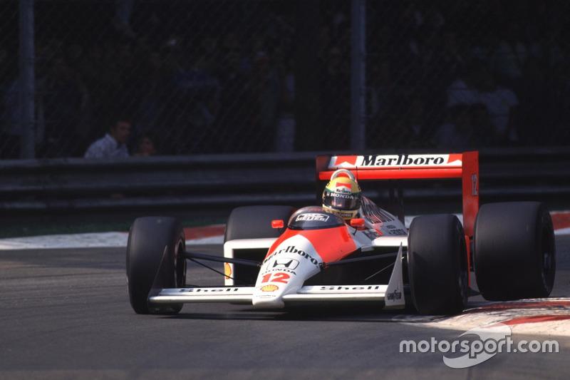 20-й поул: Айртон Сенна, Гран При Мексики, 1988 год