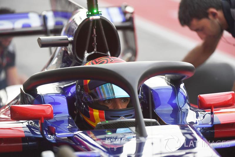 Карлос Сайнс-молодший, Scuderia Toro Rosso STR12, Halo