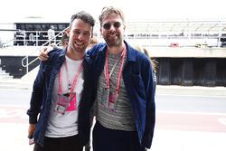 Mark Cavendish, Radrennfahrer, Ricky Wilson, Musiker der Band Kaiser Chiefs