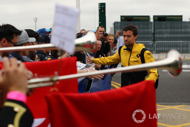 Jolyon Palmer, Renault Sport F1 Team and fans