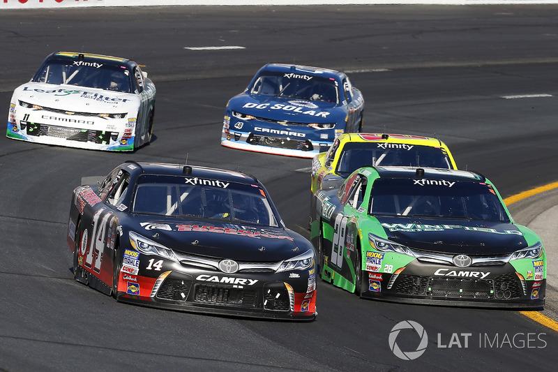 J.J. Yeley, TriStar Motorsports Toyota, Dakoda Armstrong, JGL Racing Toyota