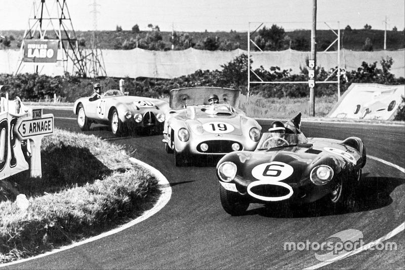 Майк Хоторн, Івор Буеб, Jaguar D-type
