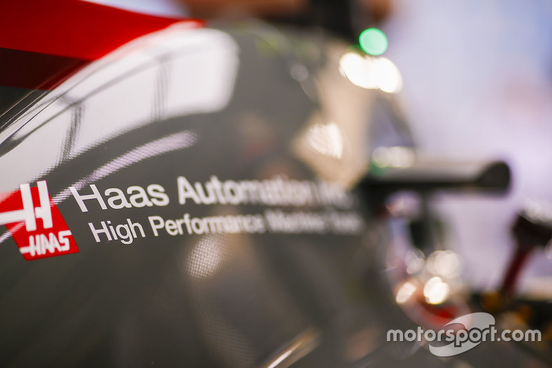 Haas F1 Team bodywork