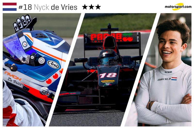 Nyck de Vries - 22 ans