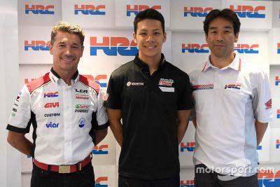 Nakagami LCR Honda aankondiging