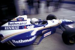Риккардо Патрезе за рулем Williams Renault FW18