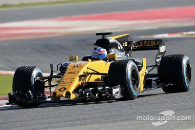 Renault Sport F1 RS17 filmdag