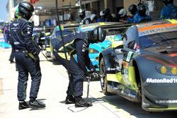 Zone de l'équipe Aston Martin Racing