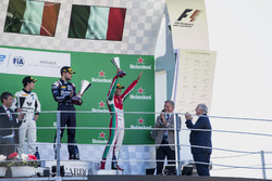 Podium: Sergio Sette Camara, MP Motorsport, Luca Ghiotto, RUSSIAN TIME, Antonio Fuoco, PREMA Powerteam