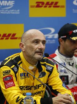 Press Conference: Gabriele Tarquini, LADA Sport Rosneft, Lada Vesta