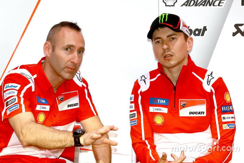 Gabarrini, Jorge Lorenzo, Ducati Team