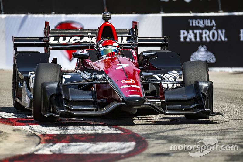 Mikhail aleshin schmidt peterson motorsports honda long for Long beach motor sports
