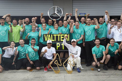 Валттери Боттас и Льюис Хэмилтон, Mercedes AMG F1