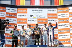 Podium nach dem 2. Rennen in Spielberg
